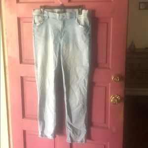 Almost famous jegging.  Size 19
